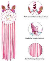 Lingpeng Unicorn <b>Dream Catcher</b> for Girl, Unicorn Bow Hanger <b>Hair</b> ...