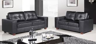 roma 3 2 black leather sofas black leather sofa