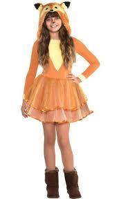 <b>Girls</b> Furry <b>Fox Costume</b> | Party City