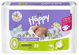 <b>Bella</b> Baby happy <b>подгузники</b> start 0 (0-2 кг) 25... — купить по ...