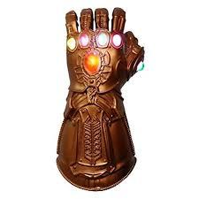 ZhaoXin Boys Men Toy Thanos Infinity Gauntlet <b>PVC Gloves</b> ...
