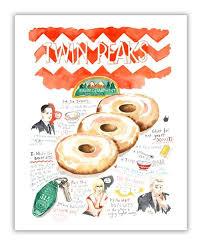 <b>Twin Peaks Sheriff Department</b> DONUT recipe   Twin peaks, Donut ...