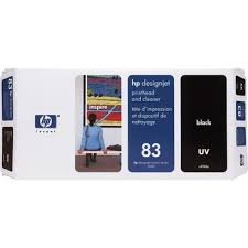 <b>HP DesignJet 83 Black</b> UV Printhead and Cleaner (C4960A) | www ...