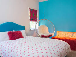 Teal Bedroom Decorating Bubble Shaped Hanging Chair For Teen Bedroom Decorating Ideas With