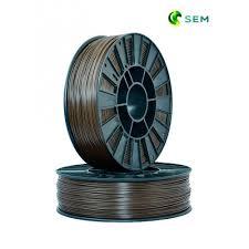 Купить нить для 3D принтера <b>ABS пластик</b> 1,75 SEM <b>коричневый</b>