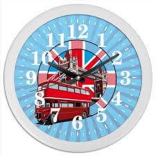 "Часы круглые из пластика ""<b>London</b>"" #2041118 от balden - <b>Printio</b>"