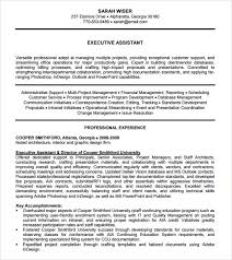 administrative assistant resume     download free documents in    executive assistant resume template