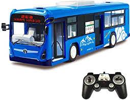 CZALBL Remote Control Bus, Wireless Charging Car ... - Amazon.com