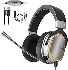 Gaming Headset for PS4, Xbox <b>One</b> Controller, <b>PC</b>, <b>3.5mm</b>: Amazon ...