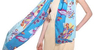 Hot Sale Women Long Silk Scarves Ladies Fashion Shawl ...