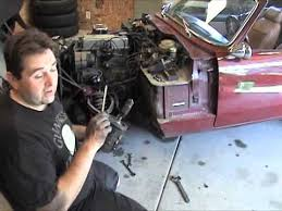 Reduction Gear Starter Install on Triumph - YouTube