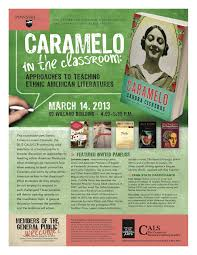 2013 community cals the 2013 centre county reads cals community of sandra cisneros s caramelo will include a variety of cals events including two opportunities to hear