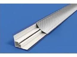 Плинтус <b>алюминиевый</b> рифленый <b>вогнутый</b> 3,05м