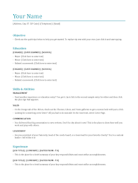 what are the main resume types com blog functional resume format