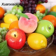 <b>Xuanxiaotong</b> 12pcs/set Green Mango Leaves Artificial Plants Tree ...