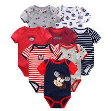 <b>8 PCS</b>/lot summer short sleeve <b>baby boy bodysuit</b> baby boy jumpsuit ...