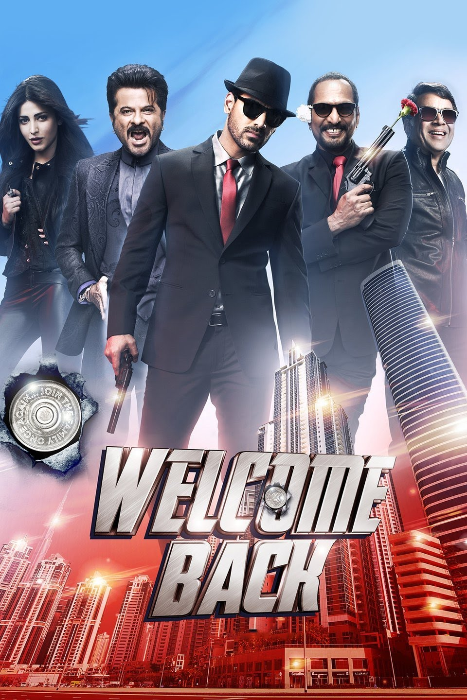 Download Welcome Back (2015) Hindi Movie 480p | 720p