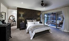 master bedroom feature wall: paper scissors glue the wallpaper hanging specialists