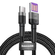Купить <b>кабель</b> 1 м, <b>Baseus Cafule HW</b> Quick Charging Data <b>cable</b> ...