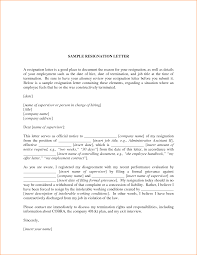 good resignation letter sample basic job appication letter letter sample pdfinvoluntary quit letter sample pdf resignation letter
