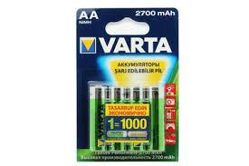 <b>Аккумуляторы VARTA</b> АА Professional Accus Ni-MH <b>2700 мАч</b>, 4 шт.