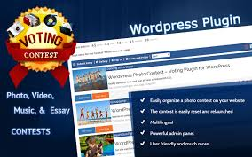 wp voting contest all in one photo video music and essay plugin the 1 contest plugin for wordpress just got better welcome to version 3 3 7