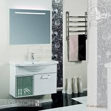 Мебель для ванной <b>Акватон Сайгон 85</b> белый купить по цене ...