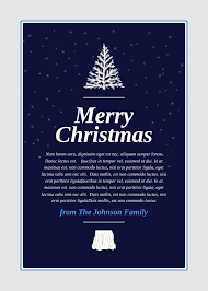 holiday templates examples lucidpress holiday invitations middot christmas card template