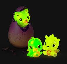Hatchimals CollEGGtibles: неоновые и светятся в темноте!