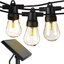 Brightech Ambience Pro - Waterproof, <b>Solar Powered</b> Outdoor String ...
