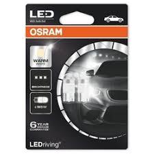 «<b>Лампа</b> светодиодная <b>12V W5W 1W</b> 4000K <b>OSRAM</b> Premium 2 шт ...