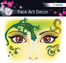 Herma <b>Наклейки для лица</b> Leopard Леопард, серия Face Art, цвет ...
