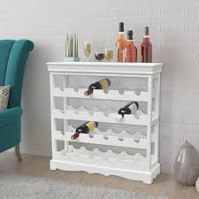 vidaXL <b>Wine Cabinet Abreu</b> White - NRG Store