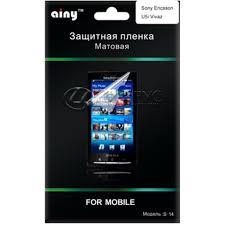 Купить <b>Защитная пленка</b> для Sony Ericsson <b>Active</b> матовая в ...
