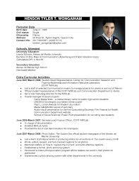 Format Resume Format Sample