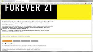 forever 21 application online video