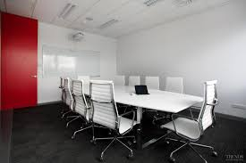 dkw personnel office designed by interiors officemax has custom office furniture in red white black and white office furniture