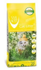 Купить <b>van cat</b> комкующийся <b>наполнитель</b> стандарт (<b>natural</b> ...