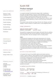 management cv template  managers jobs  director  project    product manager cv