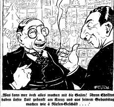 Image result for JEWISH GESTAPO CARTOON
