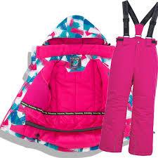 Children Thermal <b>Ski</b> Suit Waterproof Pants+Jacket Boy <b>Girl Winter</b> ...