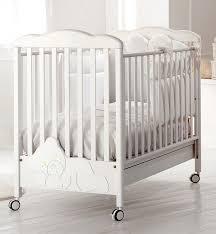 Купить <b>Кроватка Baby Expert Coccolo</b> Lux белый (со стразами) в ...