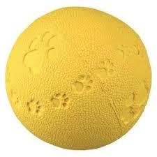 <b>Игрушка TRIXIE Мяч</b> игровой ф9см с пищалкой для собак (34863 ...