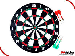 Игрушка <b>Sport Elite Дартс</b> DART-12B 30cm 28255693, цена 28 ...