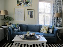 royal blue sofa simple and modern living room colours plus brown blue couch living room ideas