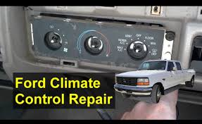 ford climate control vent defrost issues f250 f350 explorer ford climate control vent defrost issues f250 f350 explorer etc auto repair series