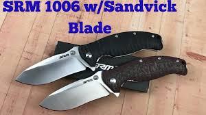 <b>Sanrenmu SRM 1006</b> linerlock knife Upgraded Blade Steel and ...
