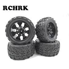 <b>4PCS RC car</b> 1/10 HSP 12mm racing <b>wheel rim</b> tires diameter ...