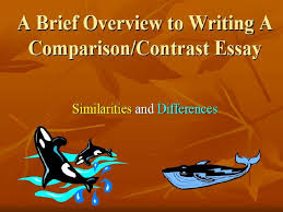 compare contrast essay topics for high school