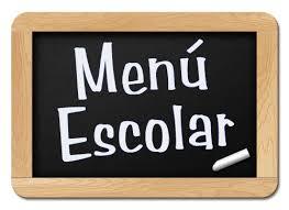 Resultado de imagen de menu comedor escolar dietas